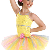 Sequin Rainbow Tutu Dress; Weissman Costumes