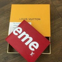 ONETOW LOUIS VUITTON SUPREME WALLETS WOMEN MEN WALLET PURSE