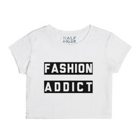 Fashion Addict-Female Snow T-Shirt
