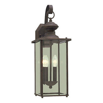 Sea Gull Lighting 8468-71 2-Light Jamestowne Extra Large Outdoor Sconce