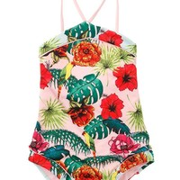 AGUA BENDITA Bendito Peyton Tropic Kids One Piece
