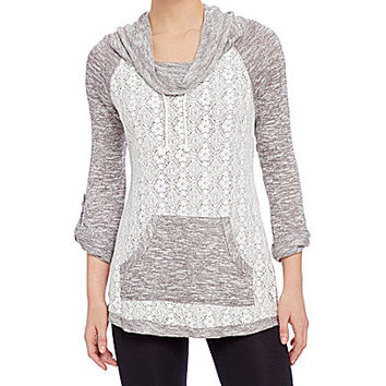 Chance or Fate Lace-Front Sweatshirt