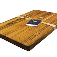 Teak Chop Block, Jumbo, Cutting Boards