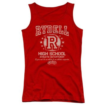 Grease - Rydell High Juniors Tank Top