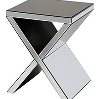 Stein World Furniture Exeter Accent Table, Mirrored