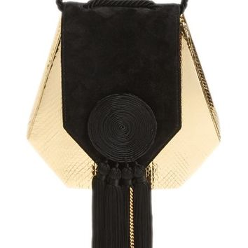 Saint Laurent 'Opium' Genuine Snakeskin & Leather Saddle Bag | Nordstrom