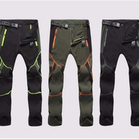 Trekking Trousers mountaineer Hiking  outdoor anti-UV breathable sport quick-dry pants camping Cycling Fishing P5
