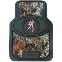 Browning Buckmark Mossy Oak Camo and Pink Floor Mats