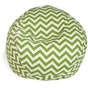 Sage Chevron Small Classic Bean Bag
