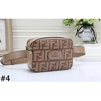 Fendi new fashion trend ladies shoulder messenger bag #4