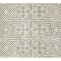 Dolores Outdoor Rug, Gray, Area Rugs