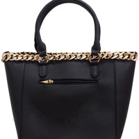 CHAINED UP TOTE BAG