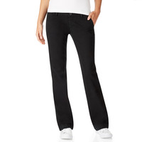 Aeropostale  Womens Curvy Basic Pants - Black, 000 S