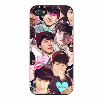 jc caylen collage youtuber cases for iphone se 5 5s 5c 4 4s 6 6s plus