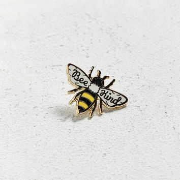 Beholder Bee Kind Pin | Urban Outfitters