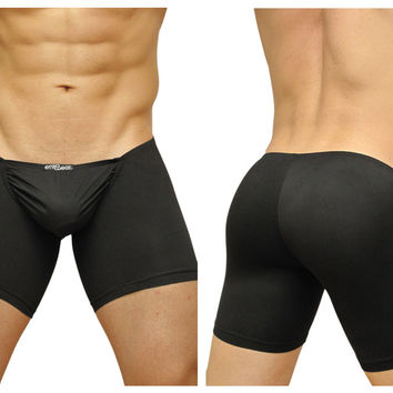 ErgoWear FEEL Suave Long Boxer Black