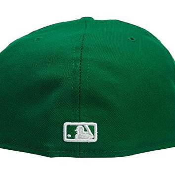 New Era Atlanta Braves Fitted Hat Mens Style: HAT273-GREEN Size: 8