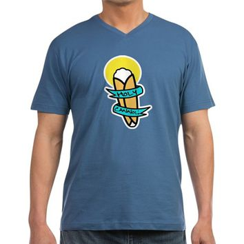 Holy Cannoli Men's V-Neck T-Shirt