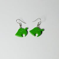 Animal Crossing: New Leaf, Nook's Leaf - EARRINGS -
