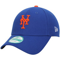 Men's New York Mets New Era Royal League 9FORTY Adjustable Hat