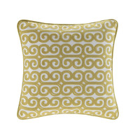Echo Design™ Boho Chic Square Pillow With Embroidered|Designer Living