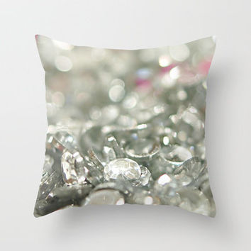 Sparkle Throw Pillow by Sweet Reveries (Andrea Hurley)  | Society6