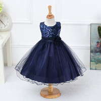 Hot Summer Flower Girls Dress For Wedding And Party Infant Princess Girl Dresses Toddler Costume Baby Kids Clothes robe fille Z2 Alternative Measures - Brides & Bridesmaids - Wedding, Bridal, Prom, Formal Gown