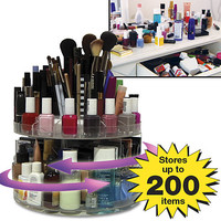GLAM ROTATING COSMETIC CADDY from Get Organized
