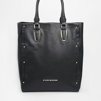 Love Moschino Leather Shopper Bag