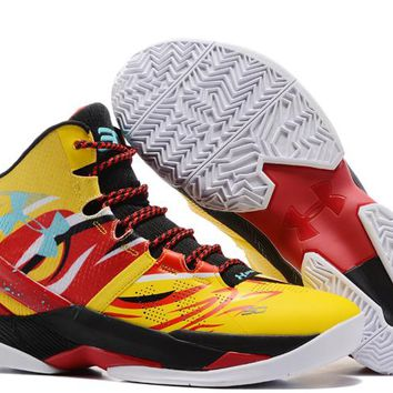 Under Armour Curry V2 Monkey King Basketball Shoes