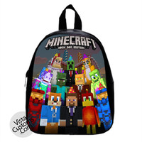 Minecraft Xbox 360 New Hot School Bag Backpack