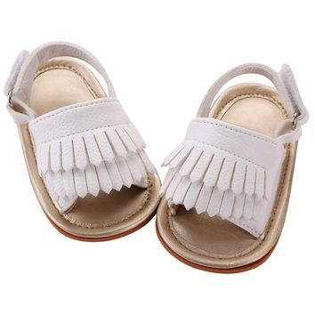 Soft PU Leather Boys Girls Shoes Beach Sandals Baby Girl Summer Toddler Shoes Slip-resistant Sandals baby Moccasins Bebes 7P1006