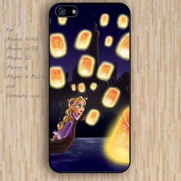 iPhone 5s 6 case cartoon tangled lanterns up colorful phone case iphone case,ipod case,samsung galaxy case available plastic rubber case waterproof B576