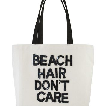 Luxury Beach Tote - Beach Hair Don't Care