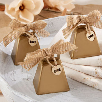 Cowbell Country Rustic Kissing Bell for Wedding