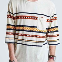 Koto Placed Stripe Tee-