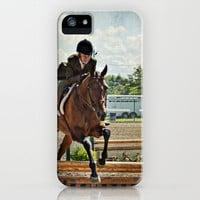 Equestrian iPhone Case by Michelle Anderson | Society6