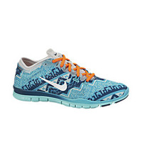 The Nike Free 5.0 TR Fit 4 Nordic Print Women's Training Shoe.