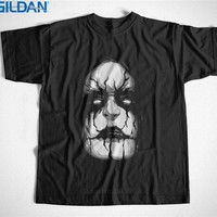 Tees Brand Clothing Funny T Shirt Gildan Short Sleeve Black Metal Death Rock Goth Gothic Crew Neck