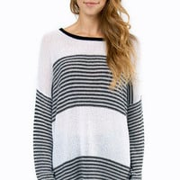 Striped Stripe Sweater $36