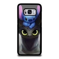 TOOTHLESS AND STITCH Samsung Galaxy S8 Case Cover