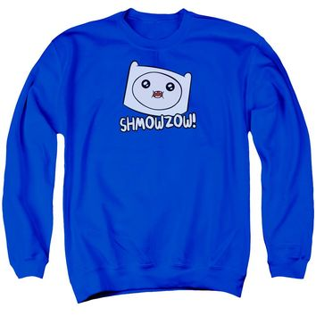 Adventure Time - Shmowzow Adult Crewneck Sweatshirt Officially Licensed Apparel