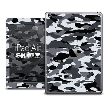The Traditional Camouflage BW Skin for the iPad Air