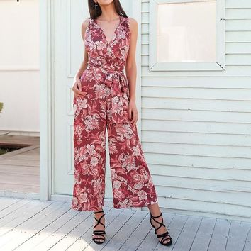 Zoe Flowers In the Windows Jumpsuit