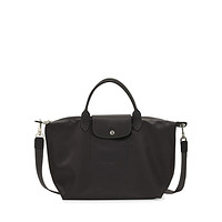 Longchamp Le Pliage Neo Medium Handbag with Strap in Black