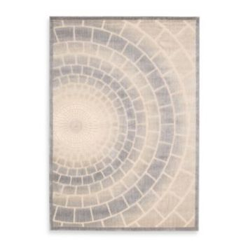 Kenneth Cole Reaction Home Mosaic Tile 7-Foot 9-Inch x 9-Foot 9-Inch Area Rug in Light Multicolor