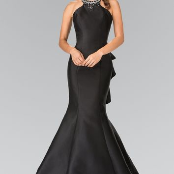 Fitted evening gown & Tight prom dress Gl2353