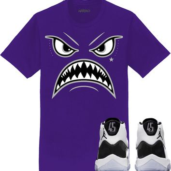 Jordan 11 Concord Sneaker Tees Shirt to Match - OREO WARFACE