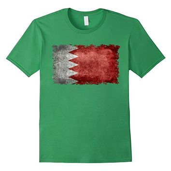 Kingdom of Bahrain Vintage Flag T-shirt