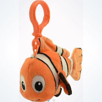 Disney Parks Finding Nemo Plush Keychain New With Tags